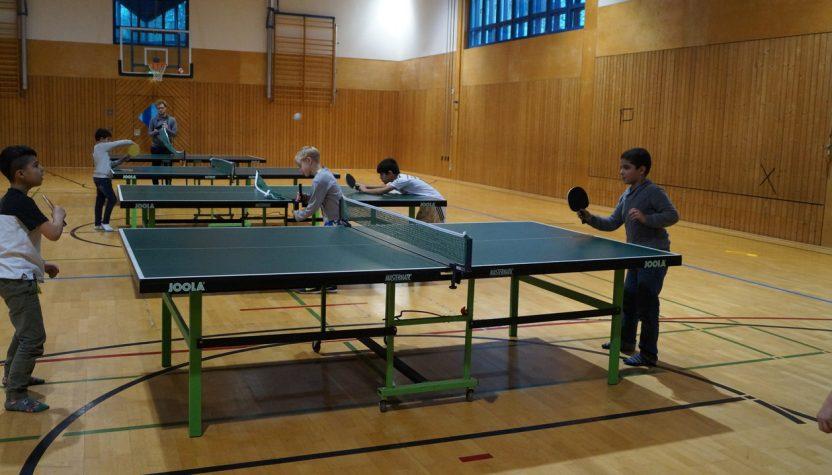 Tischtennis AG OGS